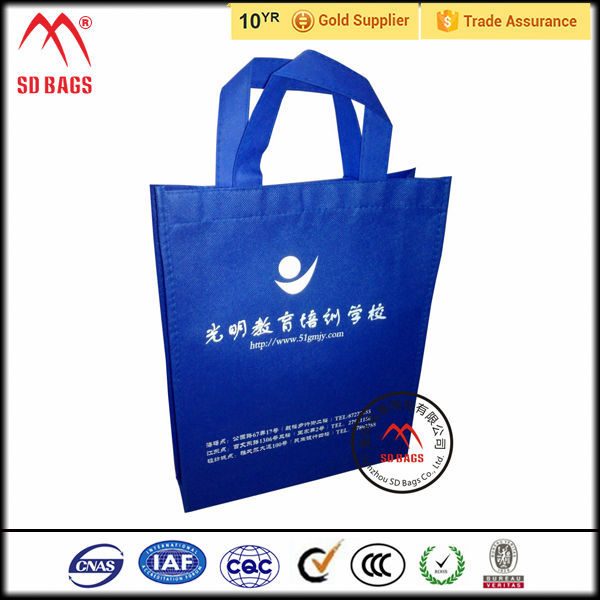 Fasctory Price recyclable shopping cotton bag / nylon shopping bag