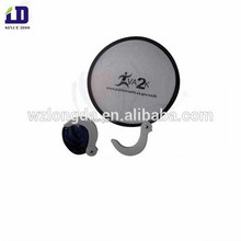 Hot selling Custom logo Nylon folding fan with pouch