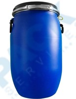 HDPE food grade blue 200 liter plastic drum for fuel packing wholesale