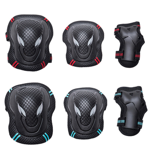 Bike Knee Protector For Dry Ice Skating Protective Clothing 6pcs Kneepad Elbow Bracer Support Sets