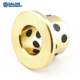 SAE841 self lubricating oilless flange flanged solid graphite inserted casting sliding copper brass bronze bushing bushings