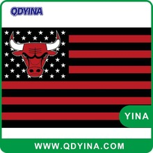 Hot sale Chicago Bulls Flag3x5ft Flag with grommets 100D Polyester flag