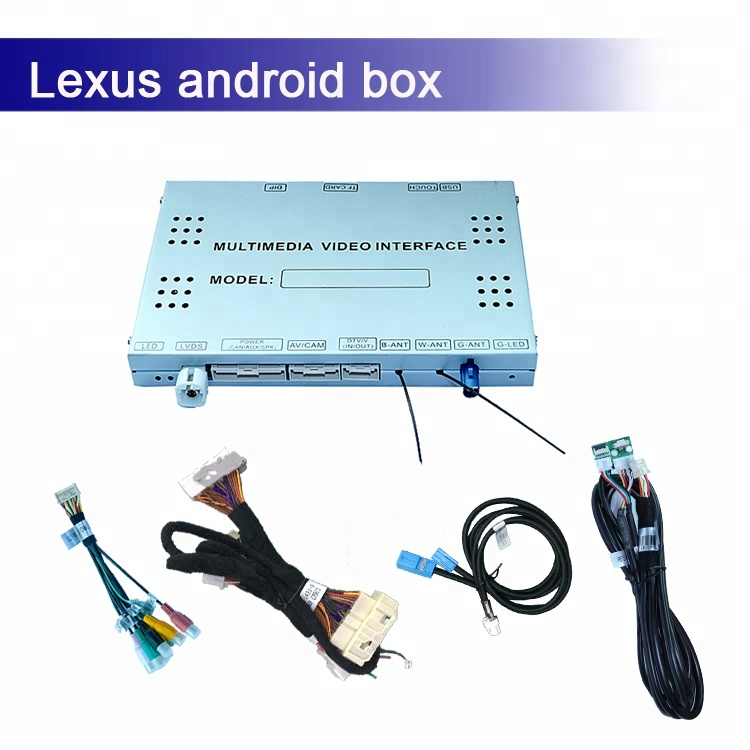 Android GPS navigation multimedia video interface for lexus