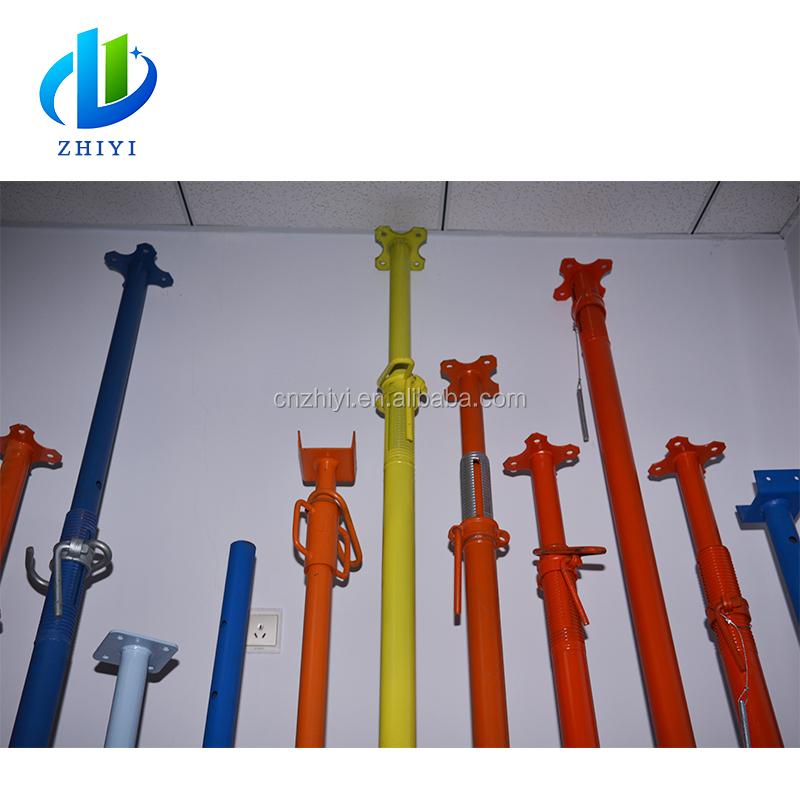 Construction used heavy duty slab or formwork supporting pillar