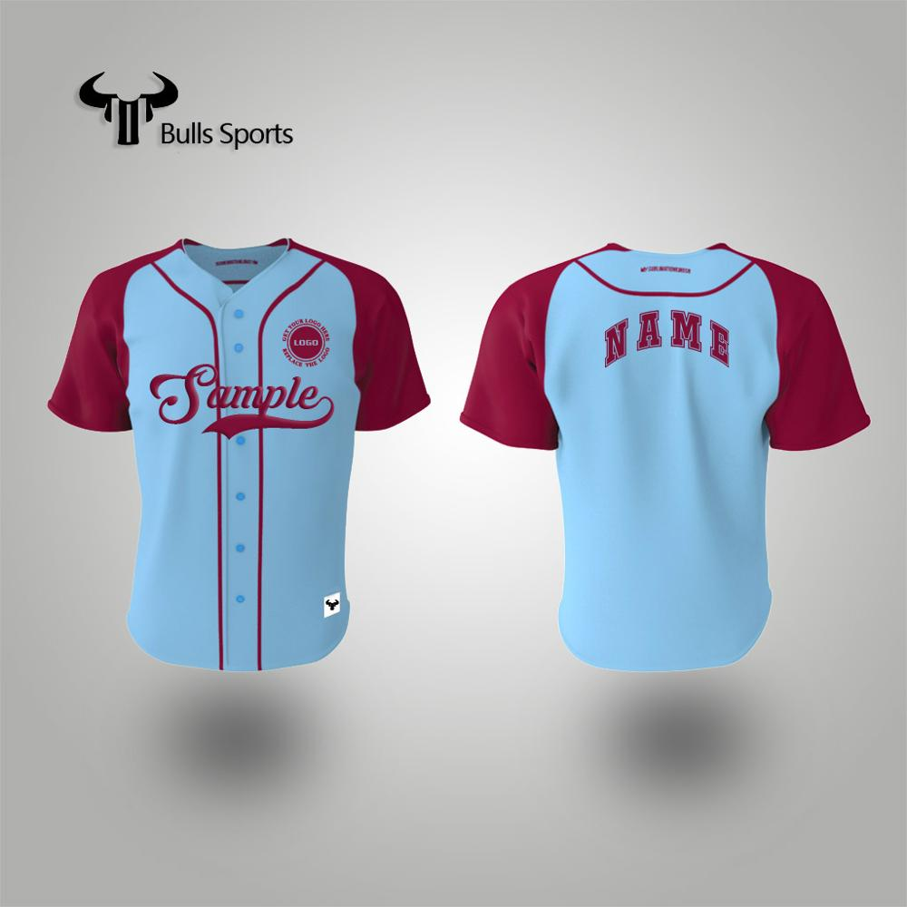 Mode polyester sneldrogende custom cubs baseball jersey