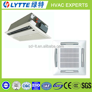Cassette Chiller Water Fan Coil Unit for Heating,Cooling,Air Conditioner 4 Way Ceiling Cassette Type