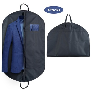 High End Fabric Mens Travel Hanging Suit Cover Garment Bag