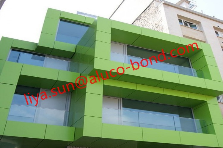 aluminum composite panel composite acp facade materials. Black Bedroom Furniture Sets. Home Design Ideas