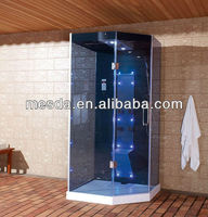 2013 new blue glass for steam room;plug;water pieces of hardware