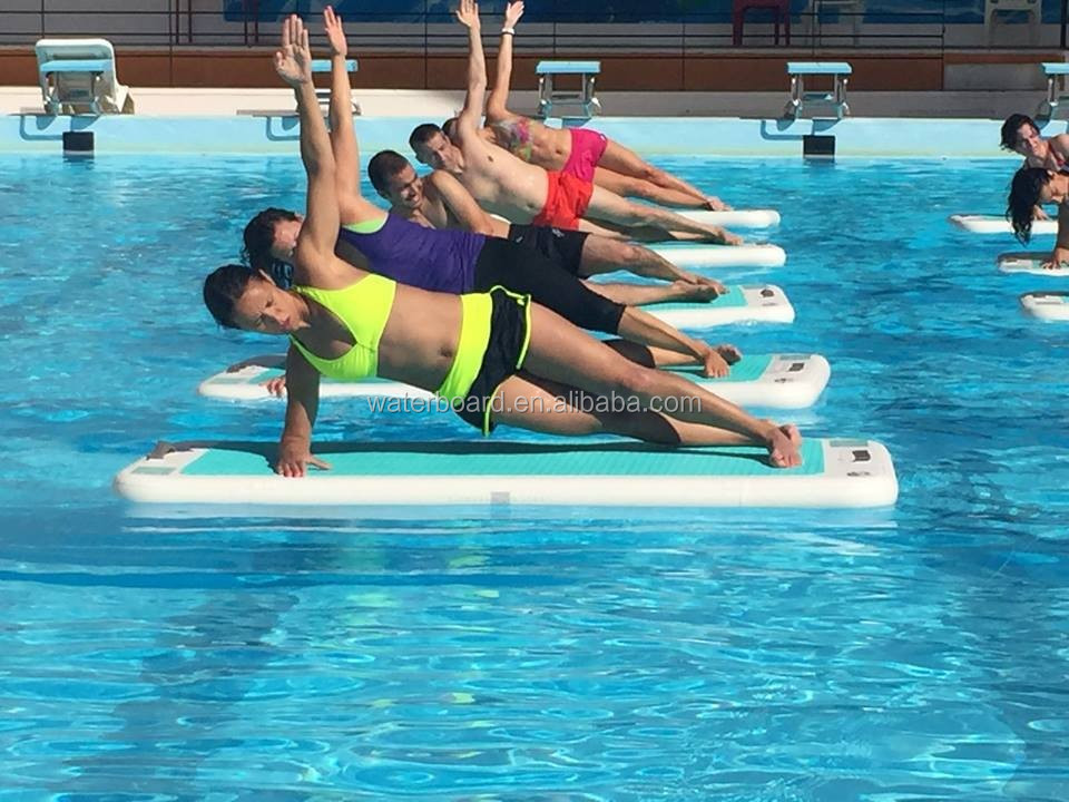 Best Quality Water Inflatable Floating Yoga Mat View