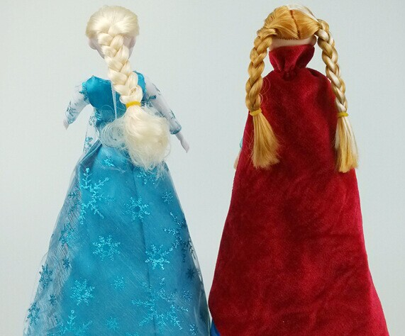 "high quality single frozen princess elsa,snow elsa doll with led lights and ""let it go""music,legs can move"