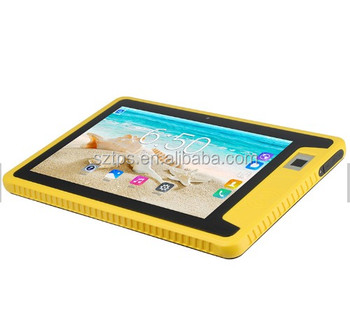 IP66 Waterproof Military 4G Ruggedized Android Tablet 10.1 inch NFC Industrial Rugged Tablet PC With CE ROHS