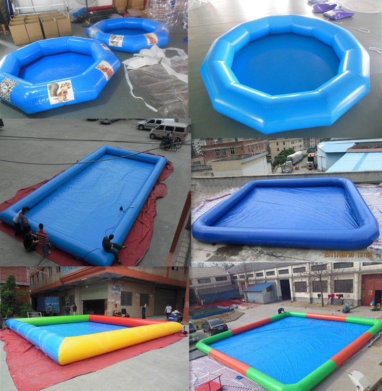 Plastic swimming inflatable pool enclosures water walk for Plexiglass pool enclosure
