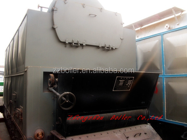 Textile, Paper, Food, Industry Used boiler proper chain grate seperated assembled 25 ton coal fired boiler