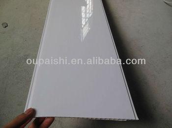 White Color Bathroom Pvc Ceiling Panels
