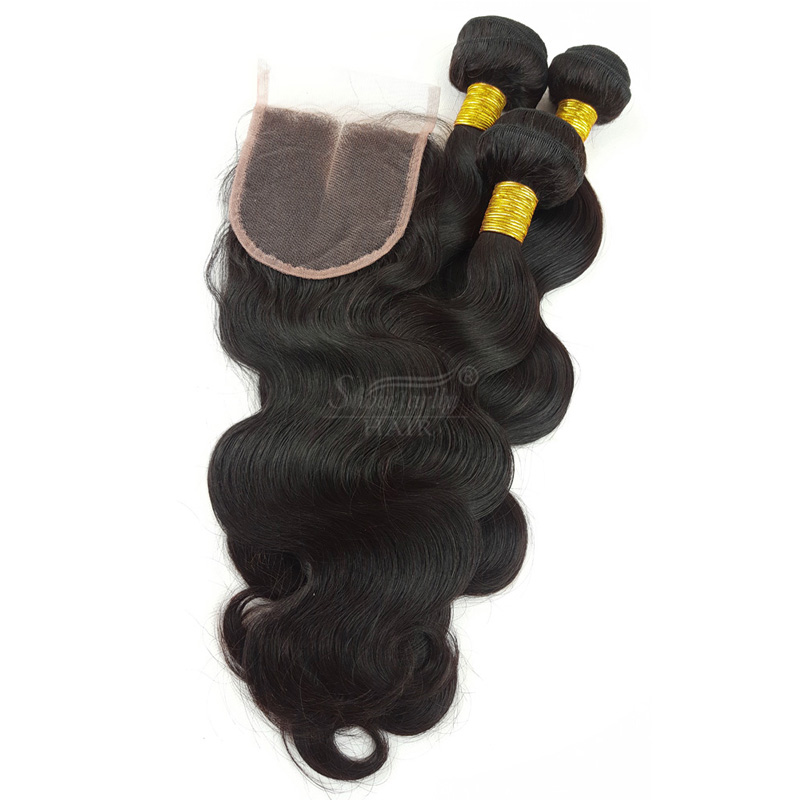Peruvian Body Wave bundles with closure unprocessed virgin cuticle aligned hair <strong>human</strong> 3 Bundles Top Front Lace Closure <strong>Human</strong> Hai