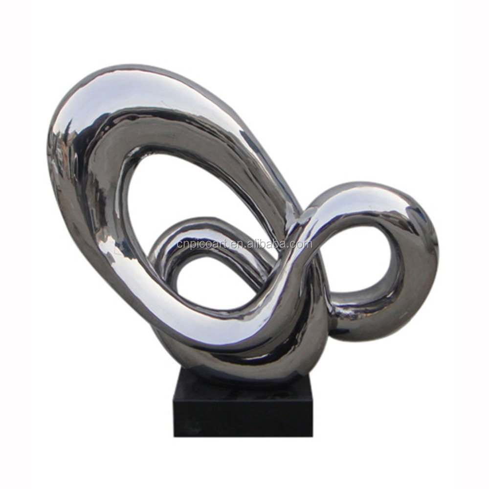 Modern hotel & home decors stainless steel art crafts