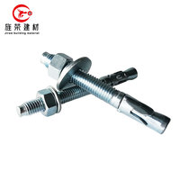 Carbon Steel Sleeve Type Expansion Anchor Bolts m8 m10 m12 m16 m24 anchor bolt grade 8.8