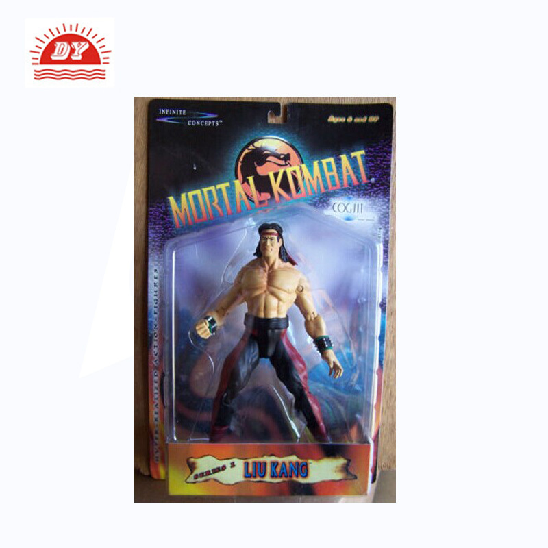 custom pvc mini mortal kombat action figures