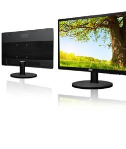 "AOC E2460SD TFT Active Matrix LED Monitor, 24"", Direct Insert Horizontal Connectors"