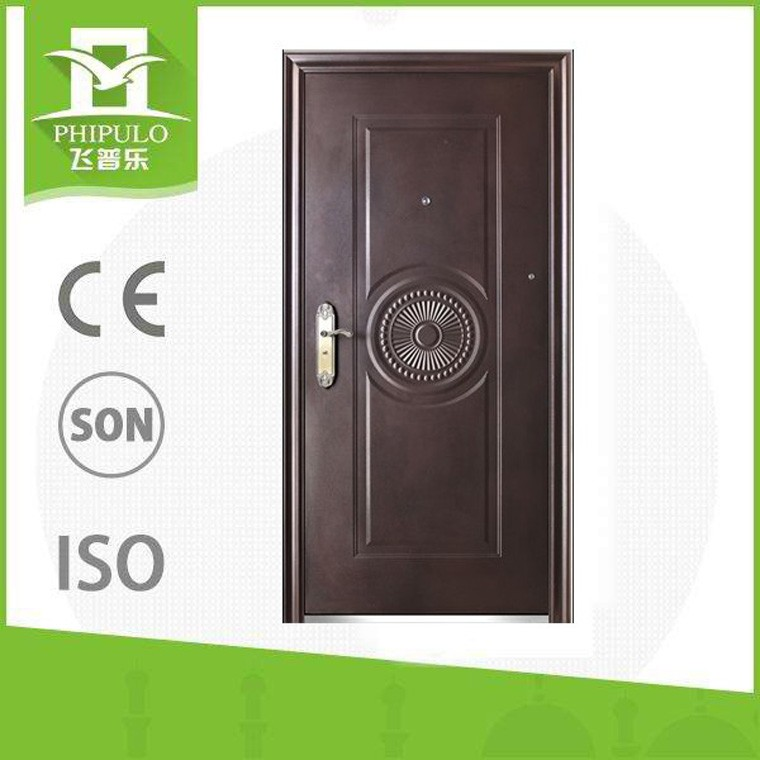 entrada de seguridad puertas cortafuegos de acero usados precios de la puerta puerta de hierro forjado