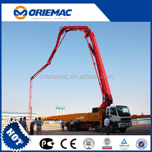 Sany 56m Concrete Pump Truck Concrete Pumping Prices Buy
