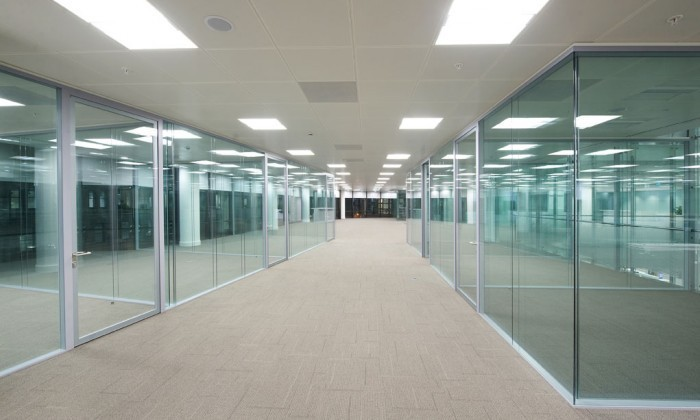 Modern Office Aliminium Clear Or Frost Glass Diy Partition Walls ...