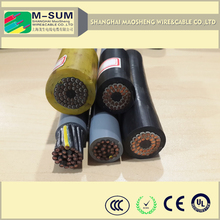 Columbia market Various pcs. various wire dia.rubber welding cable specifications, 8 mm copper wire