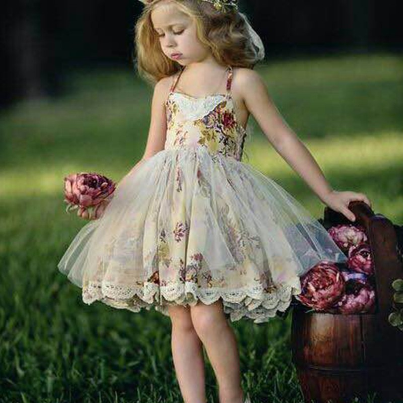 Wholesale boutique fashion unique fashion kids party wear girl dress