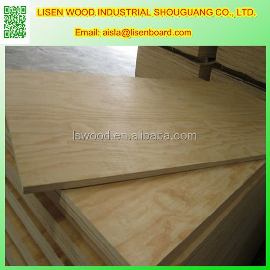 WBP GLUE Pine plywood for Construction, 9mm 12/15/18mm Radiata Pine plywood Prices