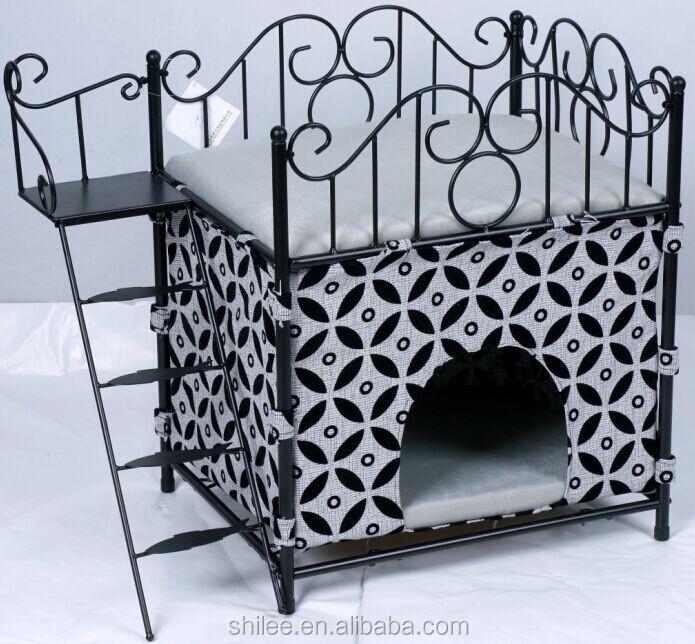 luxe de lit pour chien en fer forg lits accessoires pour animaux domestiques id de produit. Black Bedroom Furniture Sets. Home Design Ideas