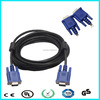 Hot! High quality 3m vga cable with ferrite male to male