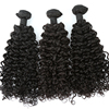 Cheap Mink Grade 10A Brazilian Cuticle Aligned Wholesale Curly Unprocessed Hair Bundle With Closure