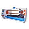 Double shafts automatic high speed pvc tape roll cutting machine