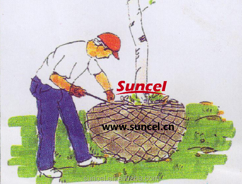Suncel Chain Link Rootball Wire Mesh Baskets For Tree Transplanting Steel  Wire Basket - Buy Chain Link Rootball Wire Mesh Baskets For Tree