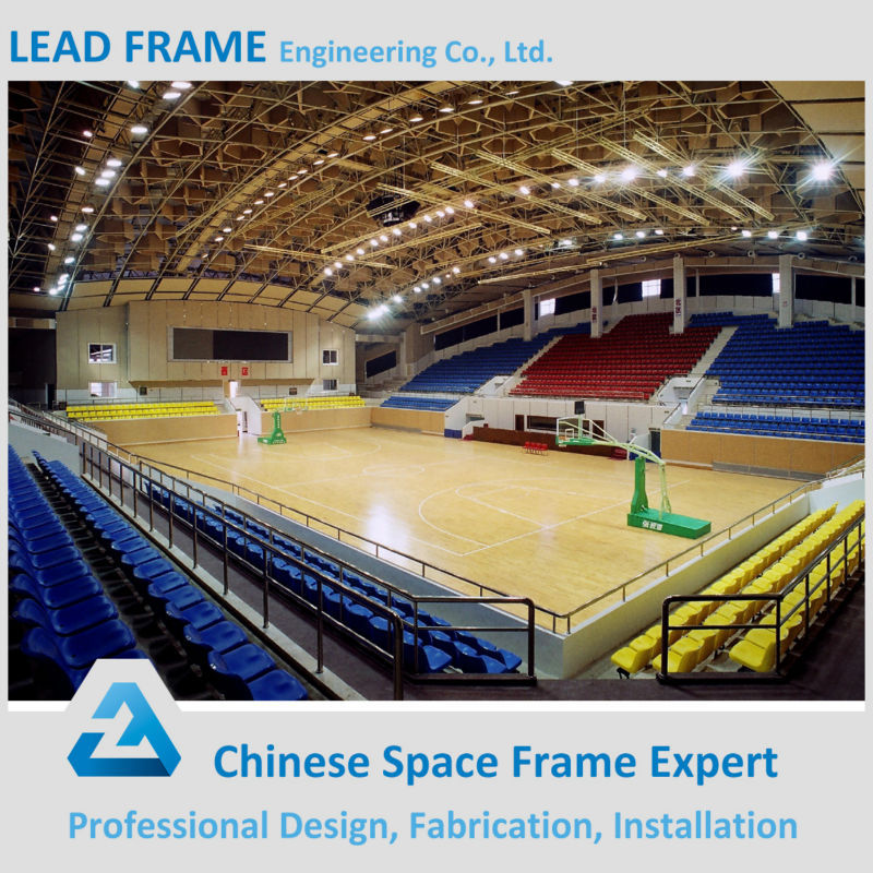 Prefabricated Steel Engineering And Construction Projects Steel Frame Badminton Court Construction