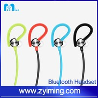 Zyiming High-end wireless Sport Bluetooth Earphone stereo Headsets Devices Portable Bluetooth phone 6 earphone