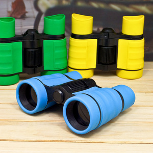4x30 Plastic Children Pocket Size Telescope Maginification Outdoor Games Boys Toys Gift Binoculars For Kids