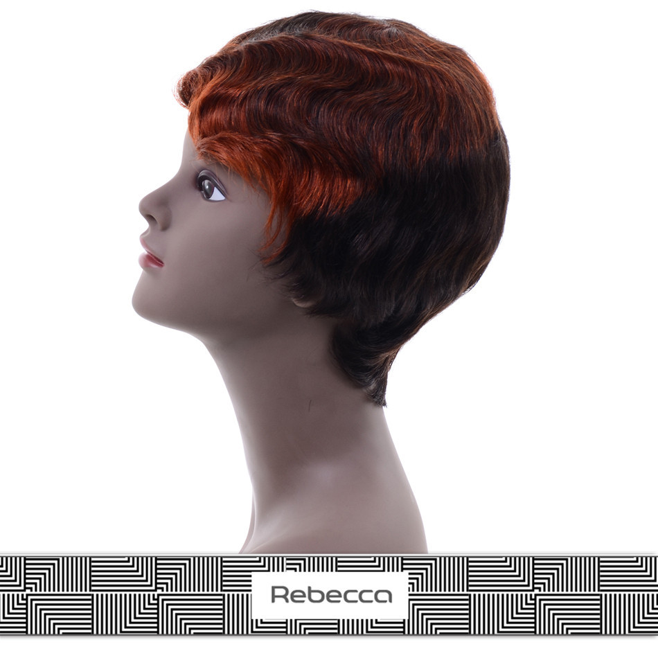 listed company rebecca remy brazilian human hair lace front wigs with baby hair