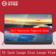 Ultra slim big size UHD 4K smart flat LED LCD TV factory oem odm