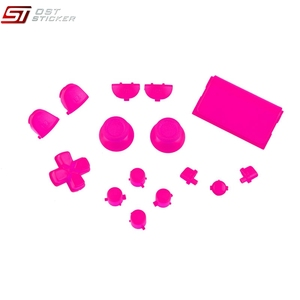 Replacement Parts Full Set Buttons Mod Kit for PS4 Controller Games Accessories