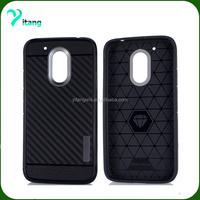 for Alcatel Pixi 4 5.5'' 3G 5012 cell phone case carbon fiber defender case