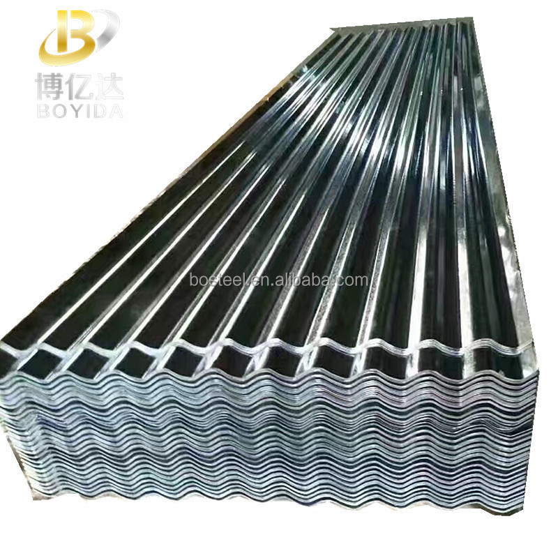 Galvanized cold rolled steel coil steel plate dx51d metal galvanized corrugeted roofing sheets