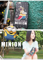 shining minion pc phone case for travel