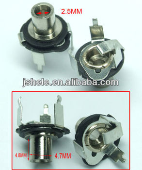 3 pin 2 5mm dc socket jack female cctv charger power plug pcb 3 pin 2 5mm dc socket jack female cctv charger power plug pcb ering