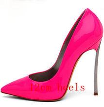 Акция; пикантные женские кожаные туфли-лодочки на шпильке с заклепками и острым носком; женские вечерние туфли-лодочки в стиле знаменитосте...(Китай)