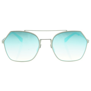 Fashion One Piece Special Rimless Lens Oversized Sunglasses for Women