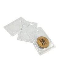 Custom Vacuum Forming Clear Plastic Blister Clamshell Packaging For Coin