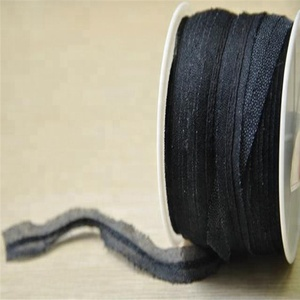 Bias tape 1 and 0.5cm ribbons non woven adhesive interlining for clothes