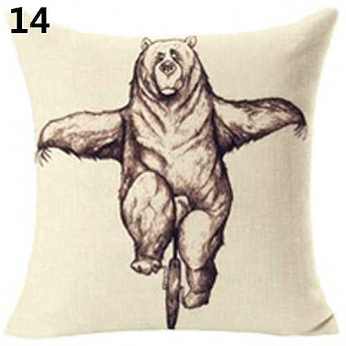 Wholesale Pillow Case New 2016 Fashion Cute Wild Animal